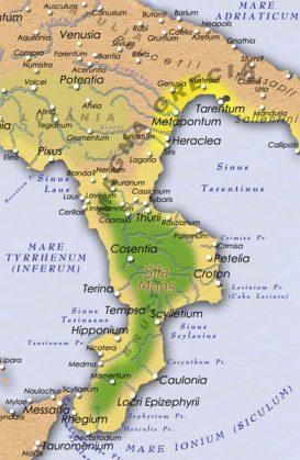 Cartina Puglia Grecia.La Magna Grecia